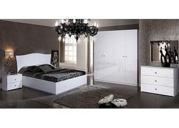 Модульная спальня Европа-9 (white-белая)