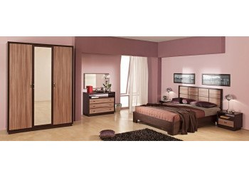 Модульная спальня Некст (Ясень Шимо)