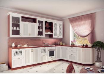 Модульная кухня Кантри (Ясень Светлый)