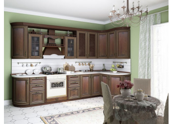 Модульная кухня Кантри (Ноче Таволато Классик)