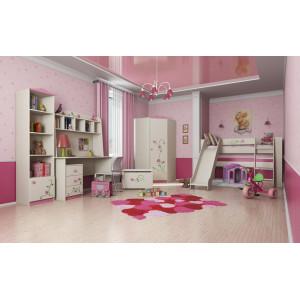 Модульная детская мебель для девочки Розалия