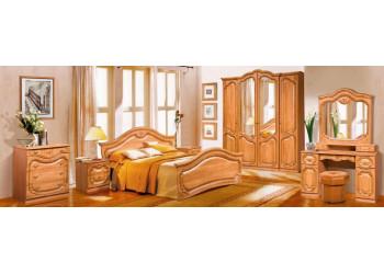 Модульная спальня  Орхидея (Ольха с патиной)