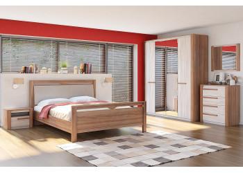 Модульная спальня Верона (Кураж)