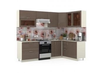 Модульная кухня Сандра капучино/сл. кость