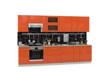 Модульная кухня Сандра манго/сл. кость