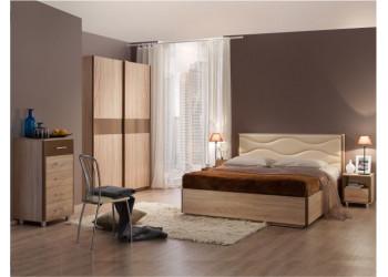 Модульная спальня Ривьера (Мебельсон)