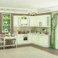 Модульная кухня Оливия Крем