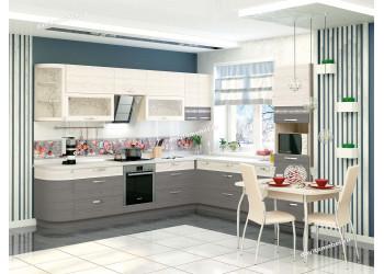Модульная кухня Графит