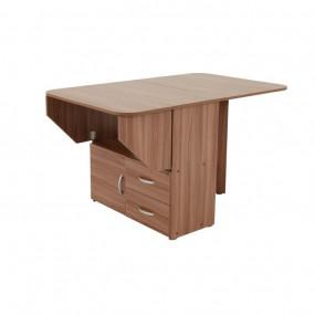 Компактный стол-книжка тумба с ящиками (Мебельcон)