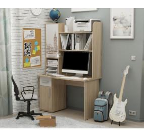 Компьютерный стол Лайт-1 1200 + Надстройка
