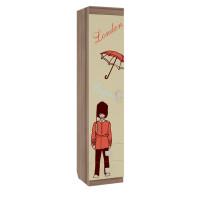 Челси Шкаф детский комбинированный (с ящ. 1-створчатый)