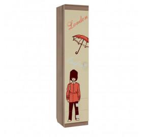 Шкаф детский Челси  комбинированный (с ящ. 1-створчатый)