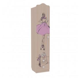 Шкаф детский Амели  комбинированный (с ящ. 1-створчатый)