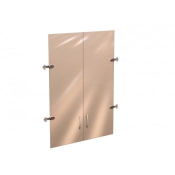 42.38 Рубин 42 Двери стекло (для шкафа 42.31) на 3 секции
