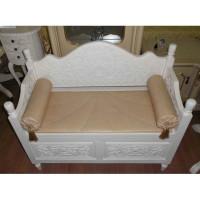 Скамья с ящиком и подушками PSB 02