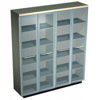 Esperto Шкаф для документовсо стеклянными высокими дверьми