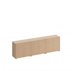 Reventon Шкаф для документов низкий закрытый(стенка из 3 шкафов)