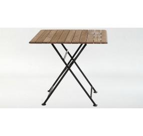 Стол квадратный Ковка + Дуб