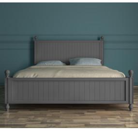 """Серая кровать """"Palermo"""" 160*200"""