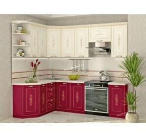Виктория 20 Кухонный гарнитур угловой 17 (ширина 160x240 см)