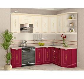 Виктория 20 Кухонный гарнитур угловой 16 (ширина 240x160 см)