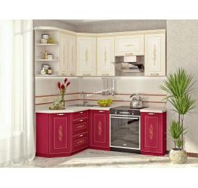 Виктория 20 Кухонный гарнитур угловой 15 (ширина 150x200 см)