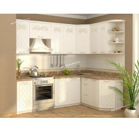 Тиффани-19 Кухонный гарнитур угловой 16 (ширина 240х160 см)
