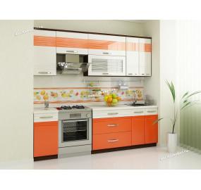 Оранж 9 Кухонный гарнитур 10 (ширина 240 см)