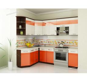 Оранж 9 Кухонный гарнитур угловой 17 (ширина 160х240 см)