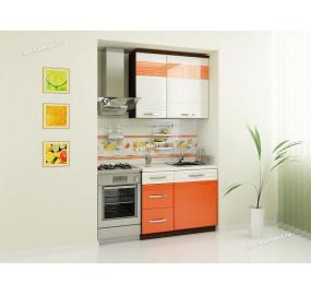 Оранж 9 Кухонный гарнитур 3 (ширина 140 см)