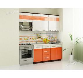 Оранж 9 Кухонный гарнитур 7 (ширина 200 см)