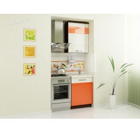 Оранж 9 Кухонный гарнитур 1 (ширина 100 см)