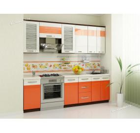 Оранж 9 Кухонный гарнитур 13 (ширина 240 см)