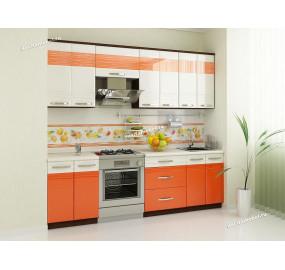Оранж 9 Кухонный гарнитур 9 (ширина 240 см)