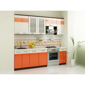 Оранж 9 Кухонный гарнитур 12 (ширина 240 см)