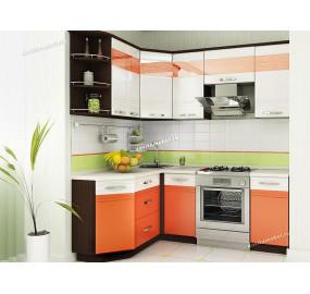 Оранж 9 Кухонный гарнитур угловой 15 (ширина 150х200 см)