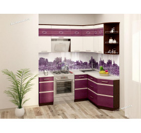 Палермо 8 Кухонный гарнитур угловой 14 (ширина 200х150 см)