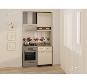 Аврора 10 Кухонный гарнитур 2 (ширина 120 см)