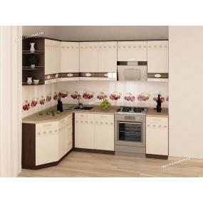 Аврора 10 Кухонный гарнитур угловой 17 (ширина 160х240 см)