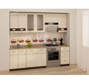 Аврора 10 Кухонный гарнитур 12 (ширина 240 см)