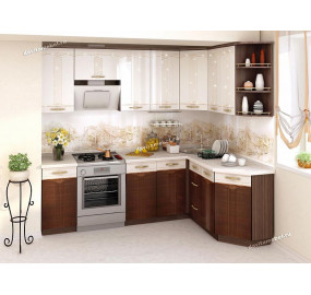 Кухонный гарнитур угловой Каролина 16 (ширина 240х160 см)