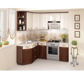 Каролина 11 Кухонный гарнитур угловой 15 (ширина 150х200 см)