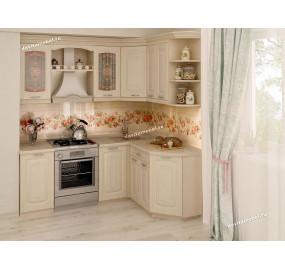 Глория_3 Кухонный гарнитур угловой 14 (ширина 200х150 см)