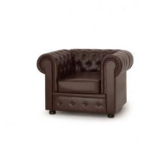 Кресло Честер коричневый