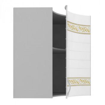 ЛД 016.311 Анастасия тип 3 Шкаф угловой с гнутым фасадом