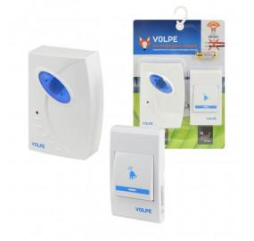 Звонок беспроводной (UL-00002401) Volpe UDB-Q025 W-R1T1-16S-80M-WH