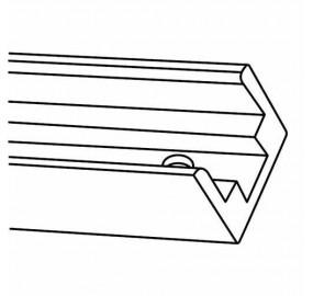 Крепление для светодиодной ленты (UL-00002934) Uniel UCC-N21/C50 White 025 Polybag