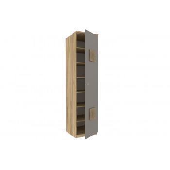 Фиджи Шкаф одностворчатый с декоративными накладками