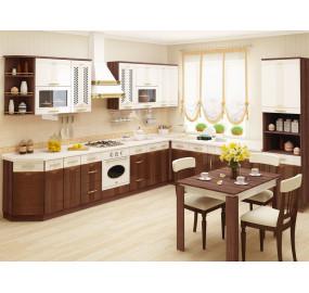 Кухонный гарнитур угловой Каролина 18 (ширина 370x300 см)