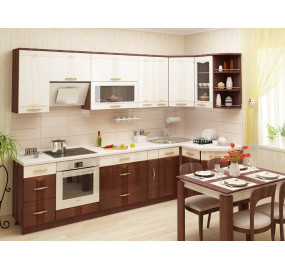 Кухонный гарнитур угловой Каролина 20 (ширина 300x130 см)